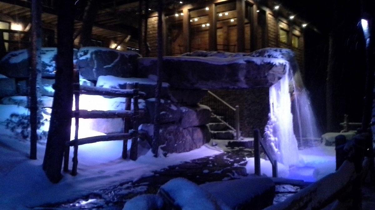 NRJ Spa Nordique le soir